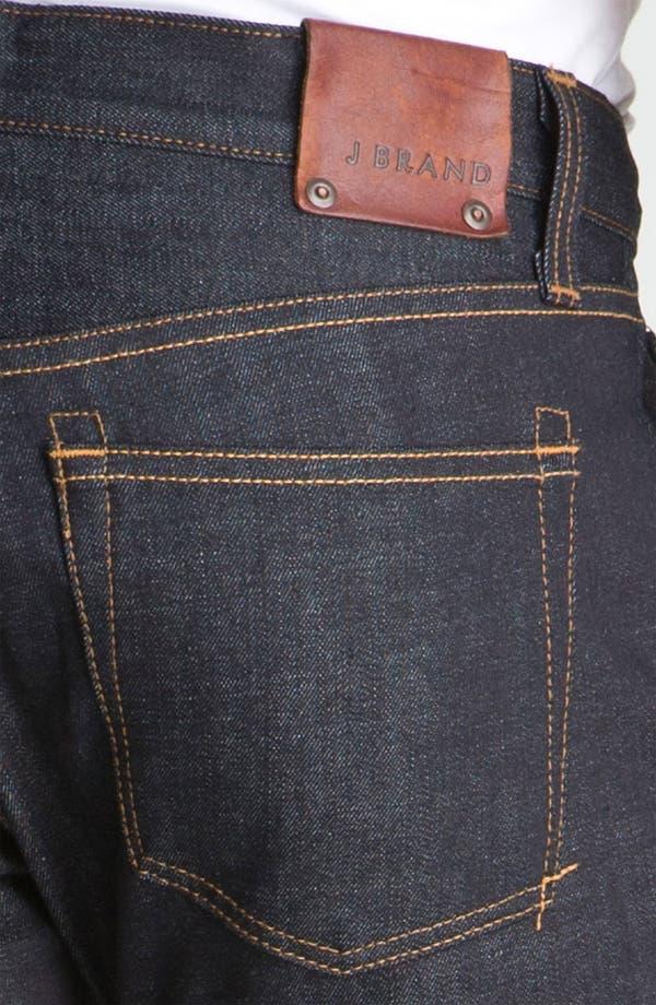 Alternate Image 4  - J Brand Kane Slim Straight Leg Jeans (Raw)