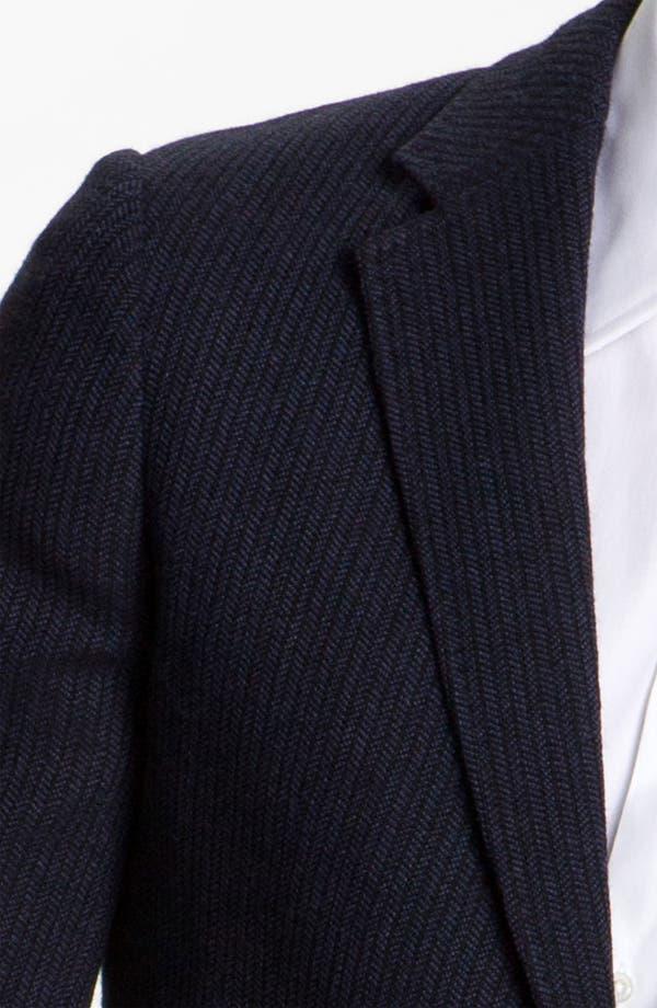 Alternate Image 3  - Armani Collezioni Stripe Blazer