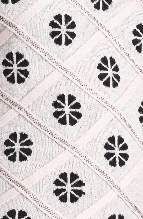 Alternate Image 3  - Nina Ricci Lace Inset Knit Top
