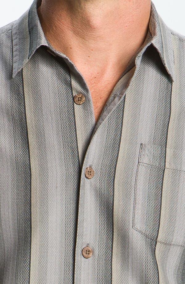 Alternate Image 3  - Tommy Bahama 'Sampan Stripe' Silk Sport Shirt