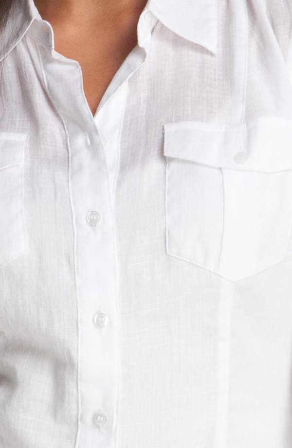 Alternate Image 3  - Sandra Ingrish Roll Sleeve Shirt