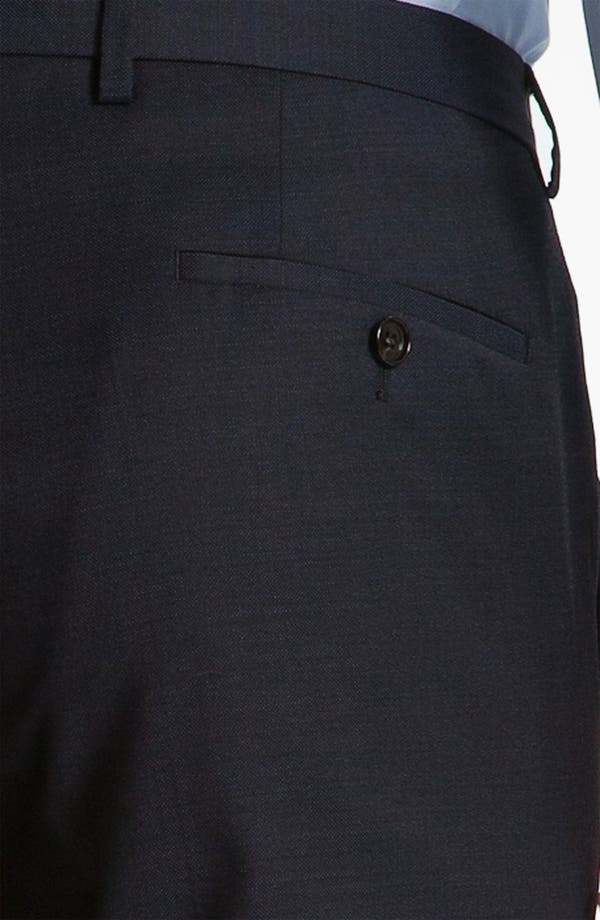 Alternate Image 9  - BOSS Black 'James/Sharp' Trim Fit Three Piece Suit
