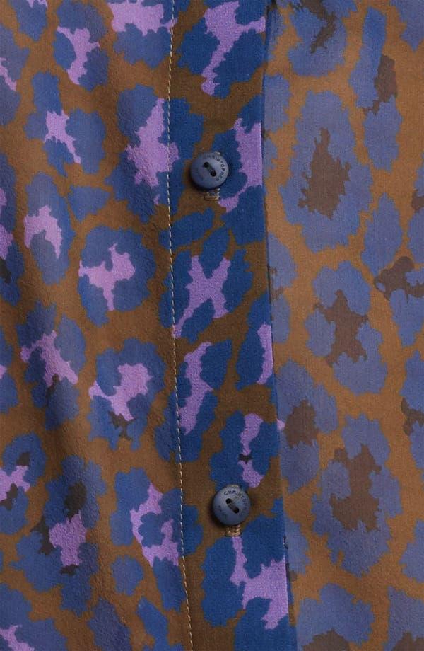 Alternate Image 3  - Christopher Kane Leopard Print Silk Georgette Blouse