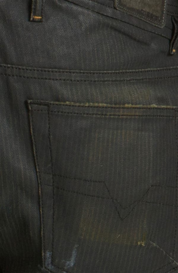 Alternate Image 4  - DIESEL® 'Shioner' Coated Slim Skinny Leg Jeans (0804H)