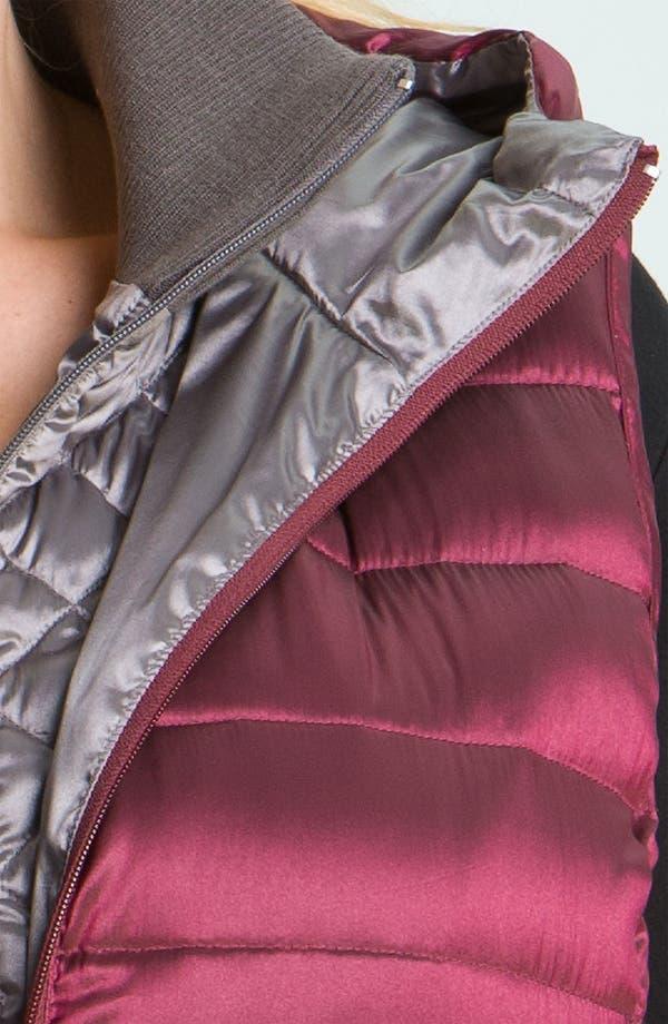 Alternate Image 3  - Bernardo Iridescent Down Vest (Plus)