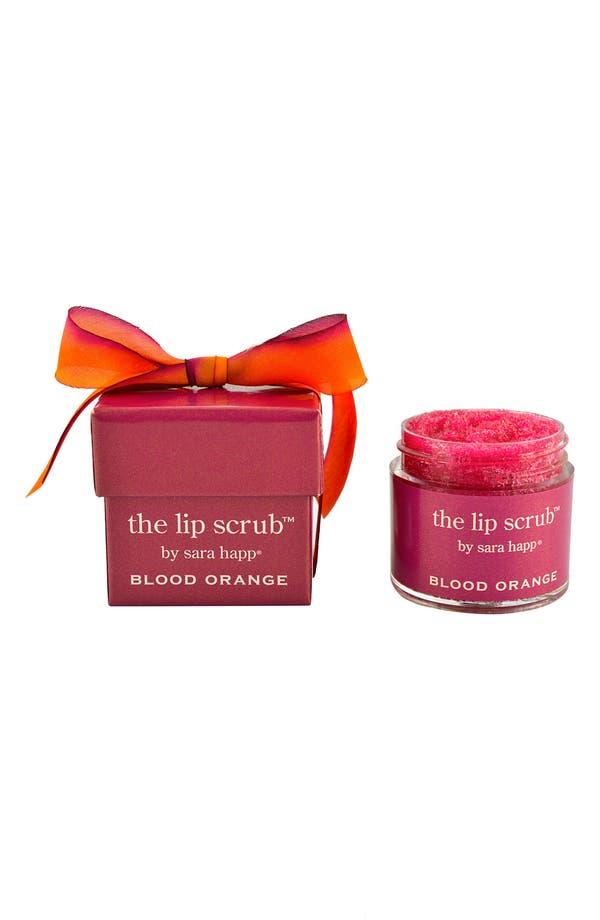 Alternate Image 2  - sara happ® 'The Lip Scrub™ - Blood Orange' Lip Exfoliator