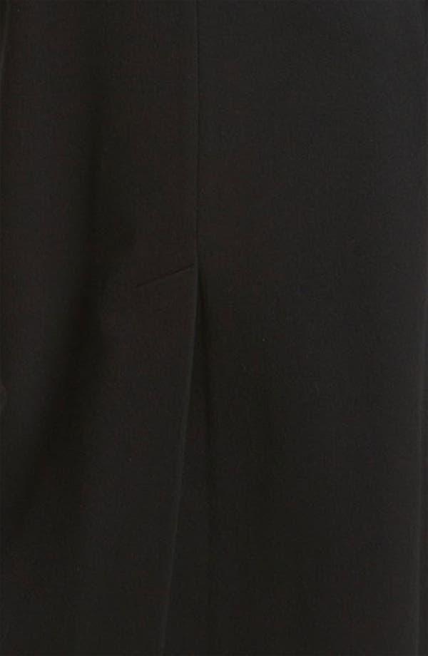 Alternate Image 3  - Fleurette Stand Collar Long Wool Coat (Online Exclusive)