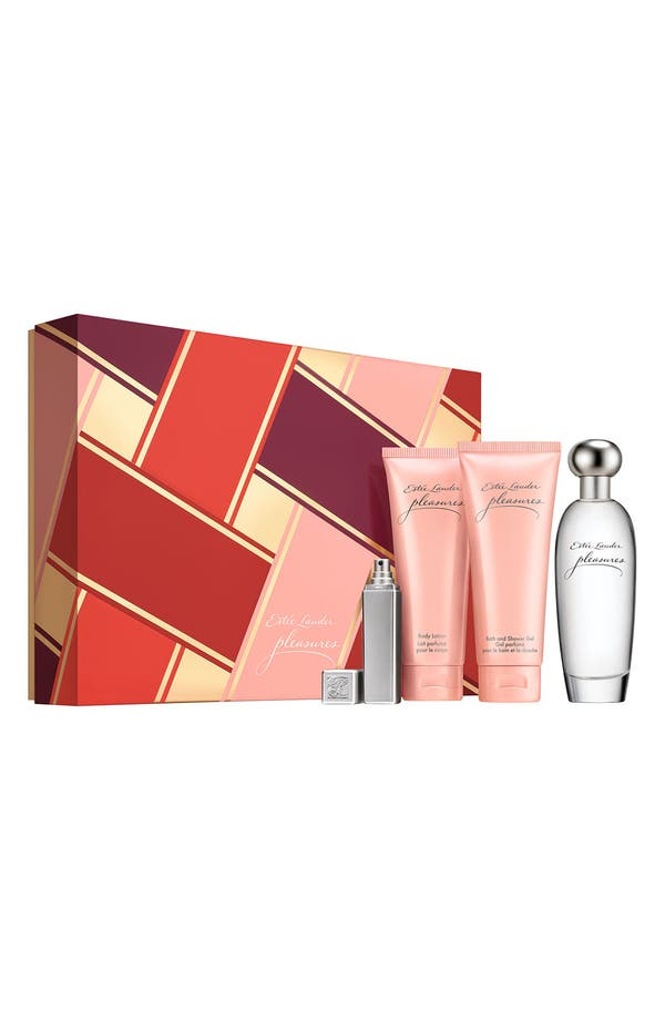 Alternate Image 1 Selected - Estée Lauder 'pleasures' Favorite Destination Set ($130 Value)