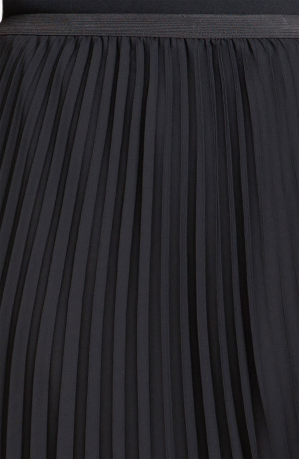 Alternate Image 3  - Vince Camuto Pleated Midi Skirt (Plus)
