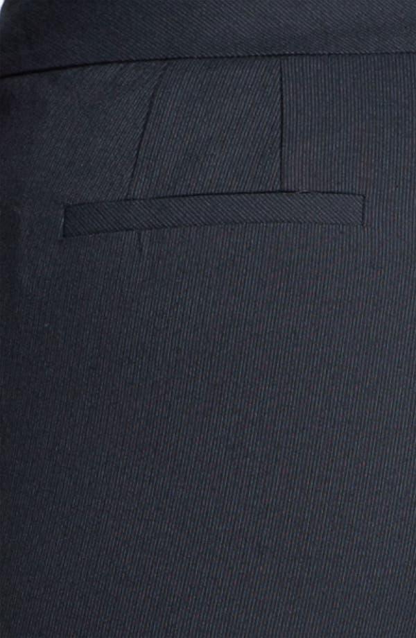 Alternate Image 3  - Sejour Pinstripe Suit Trousers (Plus)