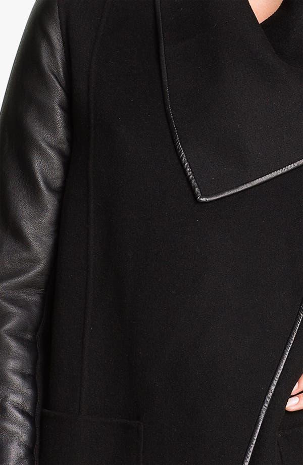 Alternate Image 4  - Mackage 'Boa' Mixed Media Coat