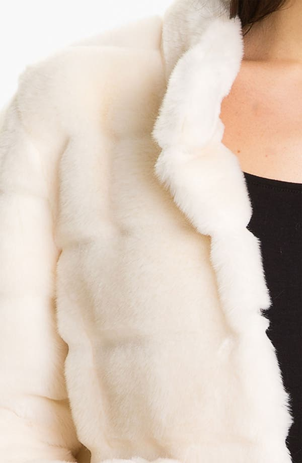 Alternate Image 3  - Kristen Blake Faux Fur Jacket