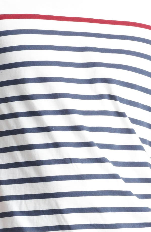 Alternate Image 3  - Topman Breton Stripe T-Shirt