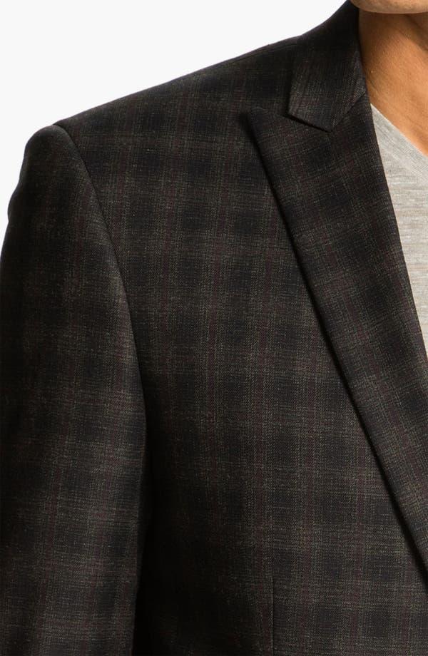 Alternate Image 3  - John Varvatos Star USA Windowpane Plaid Sportcoat