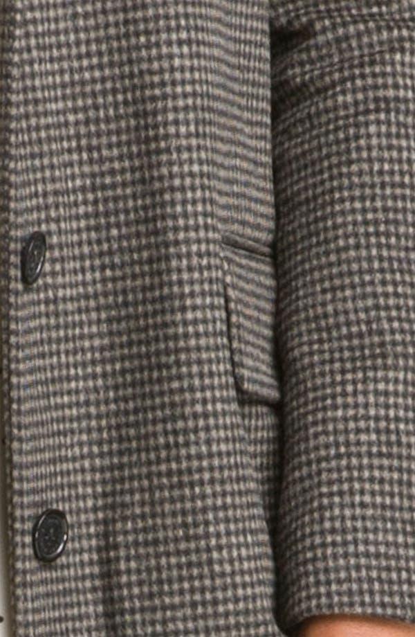 Alternate Image 3  - MARC BY MARC JACOBS 'Serge' Plaid Tweed Coat