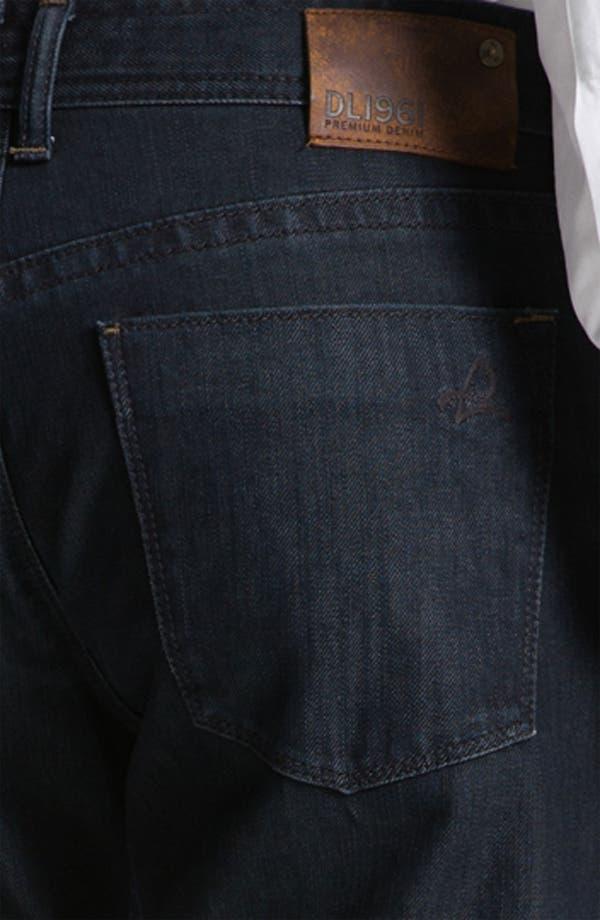 Alternate Image 4  - DL1961 'Vince' Straight Leg Jeans (Diablo)