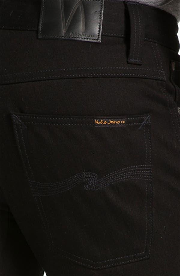 Alternate Image 4  - Nudie Jeans 'Slim Jim' Slim Fit Jeans (Organic Dry Black)