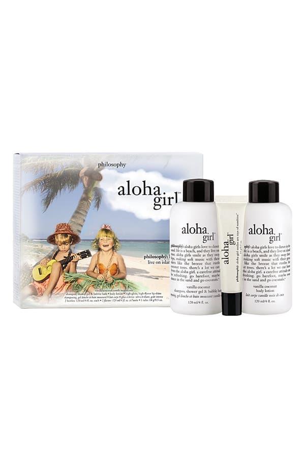 Alternate Image 1 Selected - philosophy 'aloha girl' set ($25 Value)