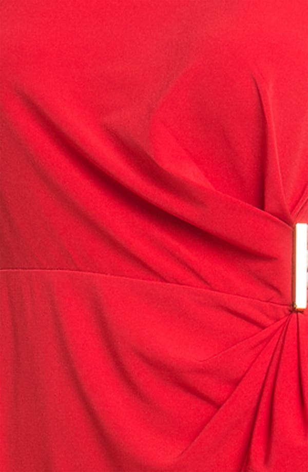 Alternate Image 3  - Calvin Klein Side Ruffle Jersey Sheath Dress