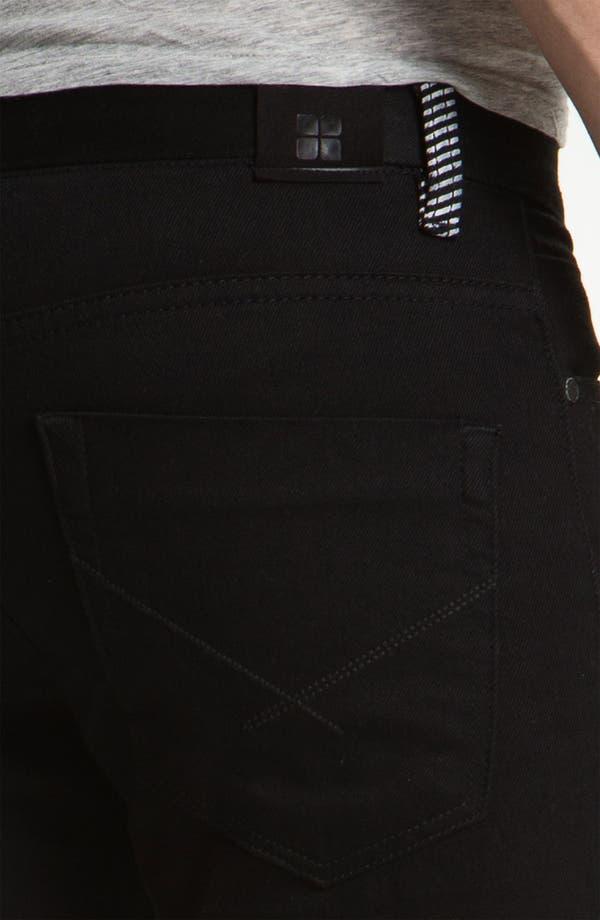 Alternate Image 3  - Insight 'City Riot' Slim Straight Leg Jeans (Double Black Rinse)