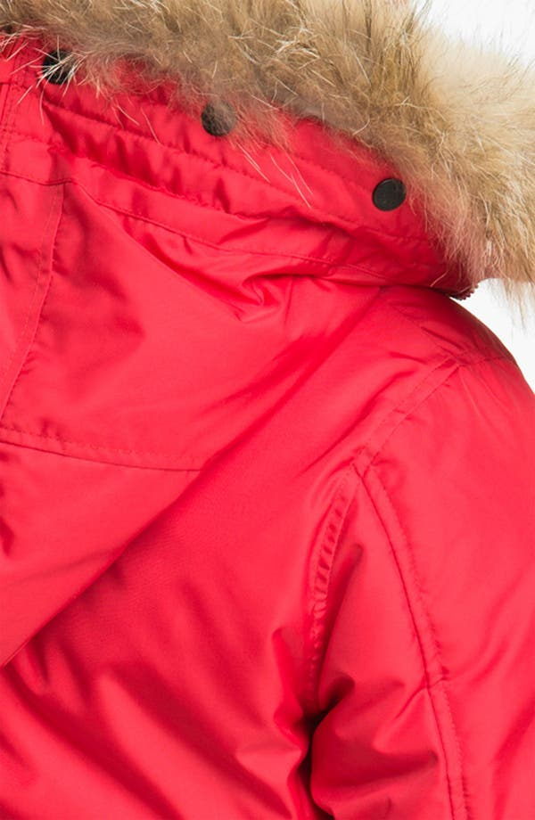 Alternate Image 4  - Pajar 'Kayla' Down Parka with Genuine Rabbit & Coyote Fur