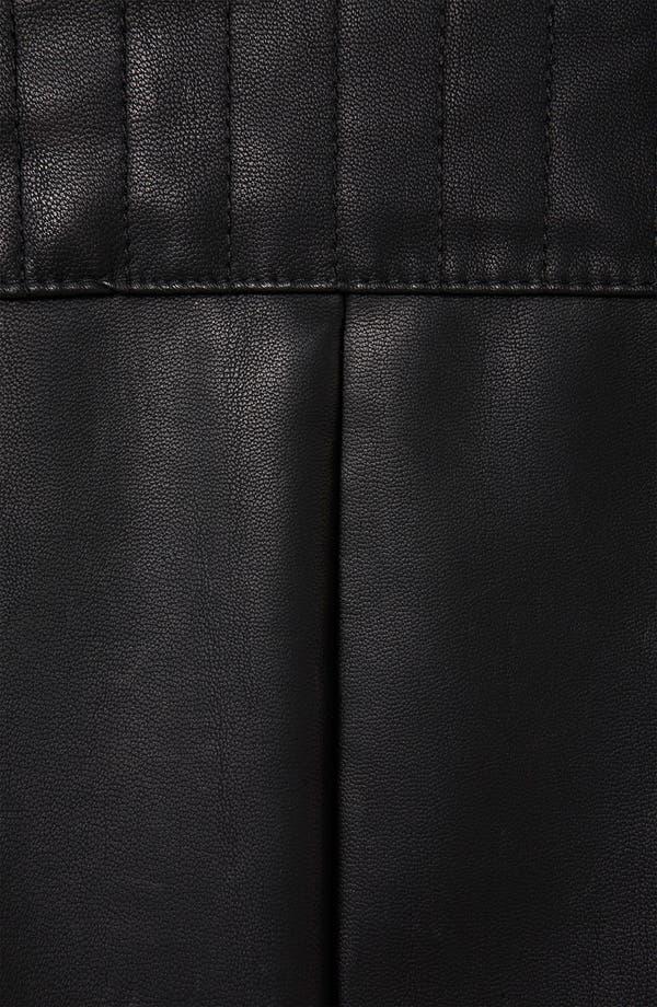 Alternate Image 4  - Topshop 'Maddox' Faux Leather Maternity Jacket