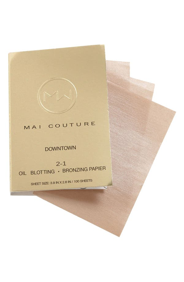 Alternate Image 1 Selected - Mai Couture '2-1' Blotting & Bronzing Papier