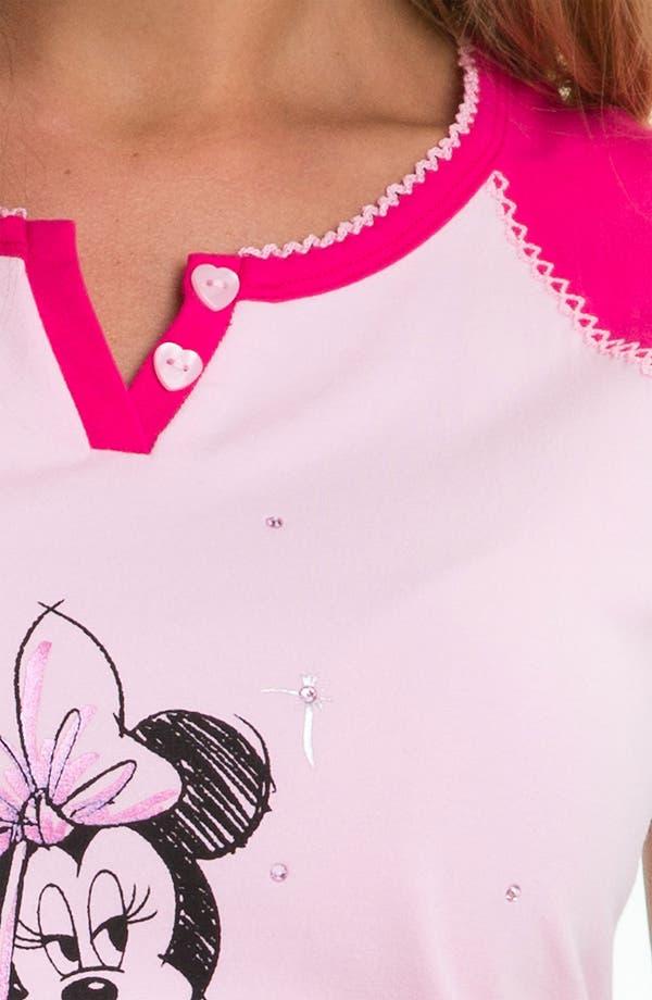 Alternate Image 3  - Betsey Johnson 'Minnie' Shorty Pajamas