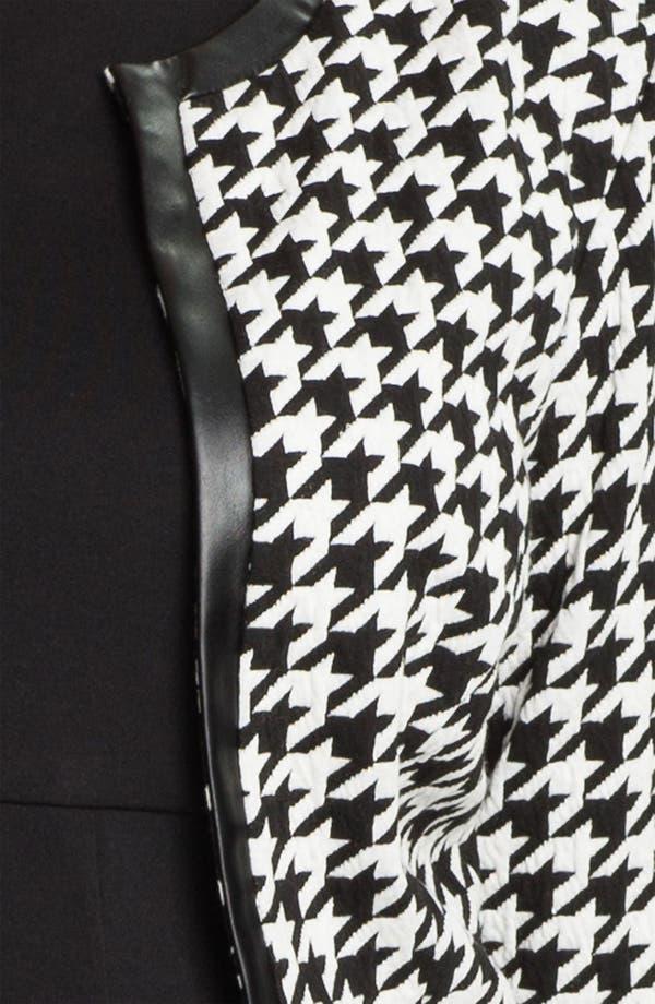 Alternate Image 3  - Eliza J Pleated Dress & Bolero Jacket (Plus Size)