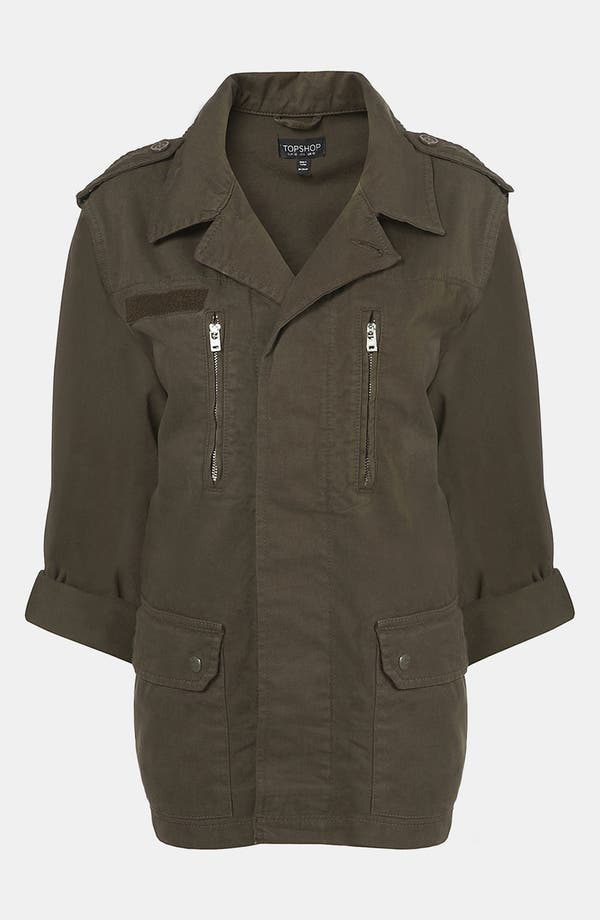 Alternate Image 1 Selected - Topshop Army Jacket