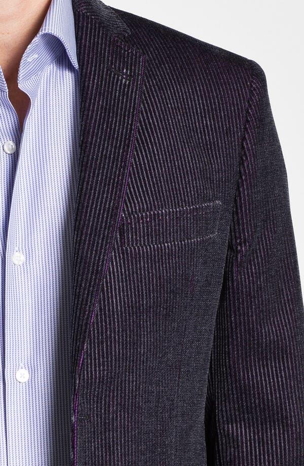 Alternate Image 3  - Ted Baker London 'Global' Trim Fit Corduroy Sportcoat