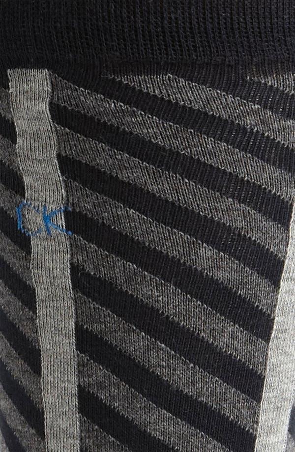 Alternate Image 2  - Calvin Klein Patterned Socks