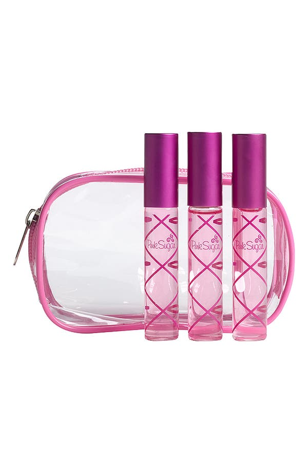 Main Image - Pink Sugar Rollerball Trio (Nordstrom Exclusive) ($60 Value)