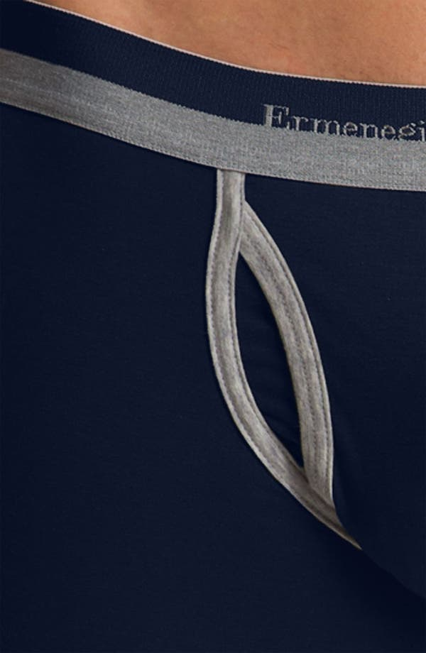Alternate Image 3  - Ermenegildo Zegna Stretch Cotton Trunks