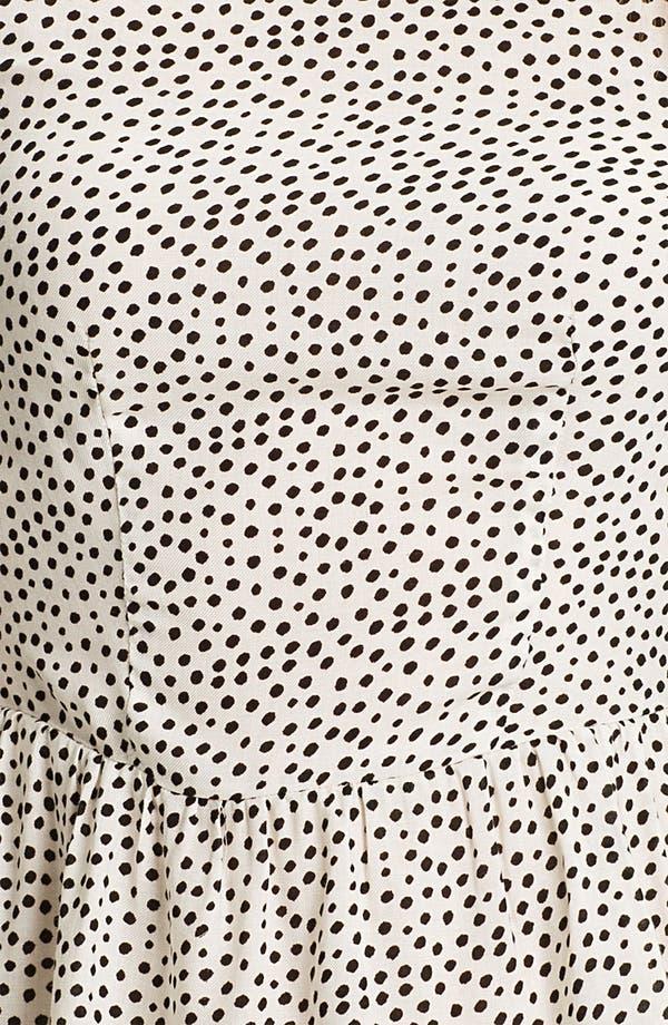 Alternate Image 3  - Ella Moss 'Paulina' Print Peplum Top