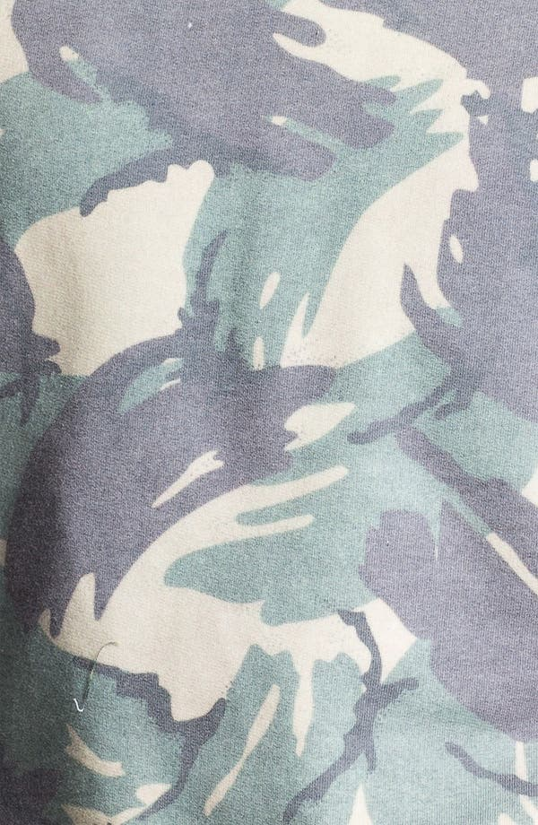 Alternate Image 3  - Topman Camo Sweatshirt