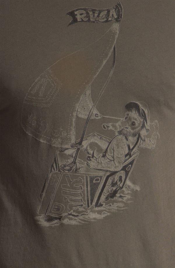 Alternate Image 3  - RVCA 'Waff Mate' Vintage Wash T-Shirt