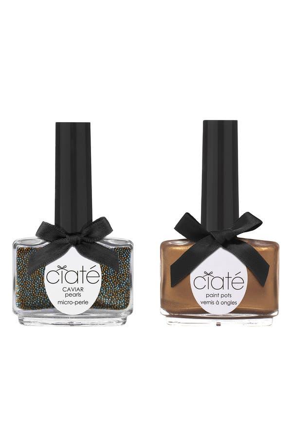 Main Image - Ciaté 'Caviar Manicure™ - Head Turner' Set