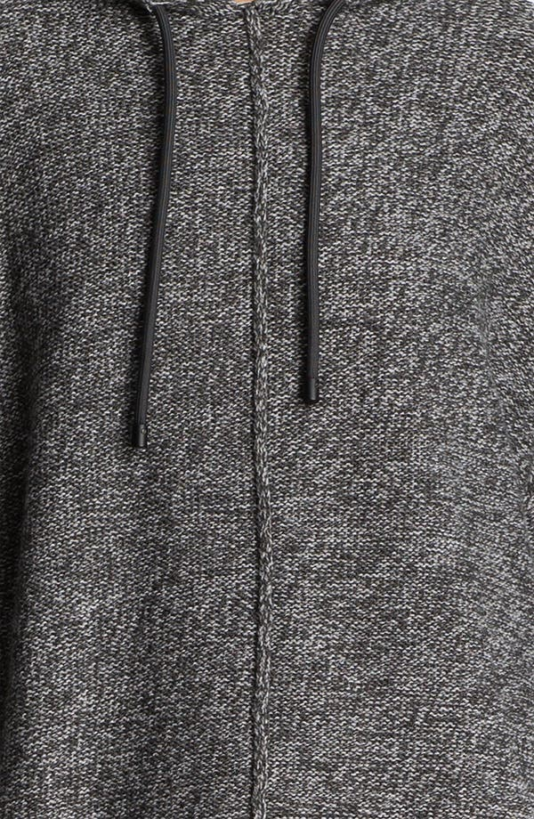 Alternate Image 4  - T by Alexander Wang Boxy Knit Hoodie