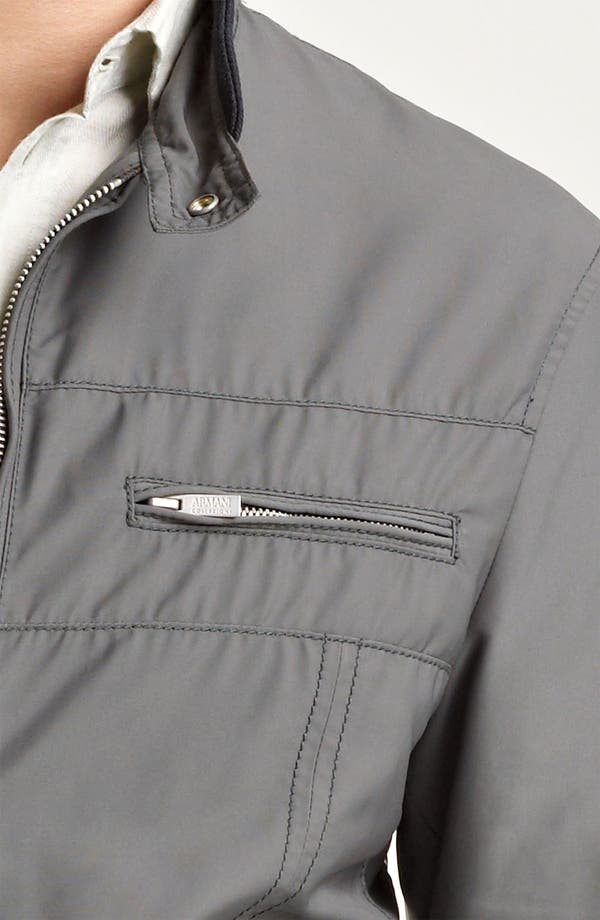 Alternate Image 3  - Armani Collezioni Nylon Moto Jacket