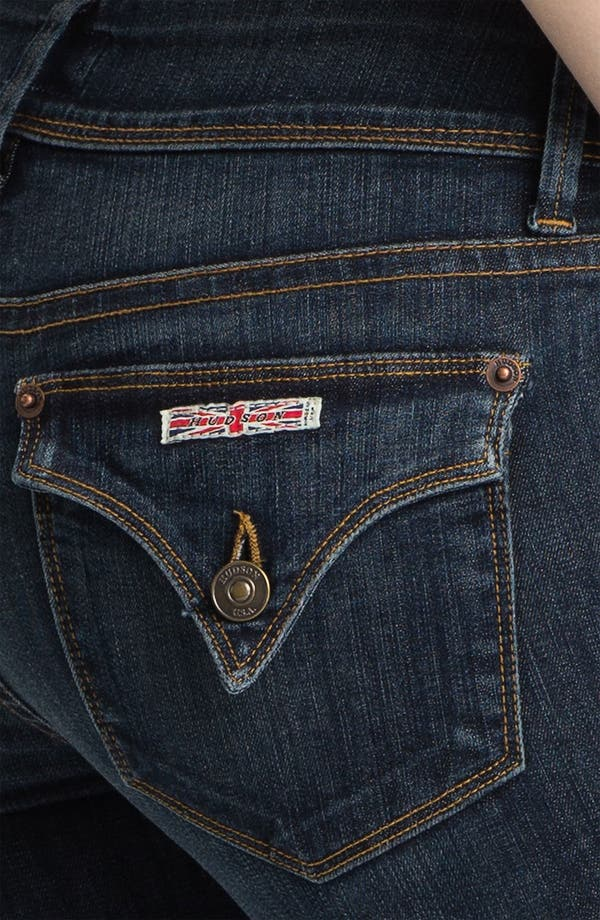 Alternate Image 3  - Hudson Jeans 'Beth' Baby Bootcut Jeans (Bethnal)