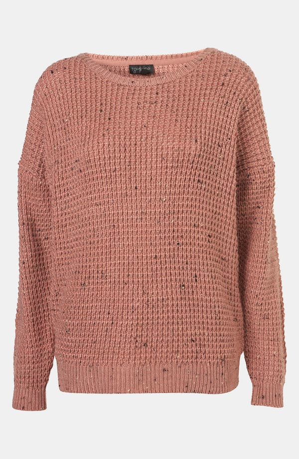 Alternate Image 1 Selected - Topshop Speckled Sweater