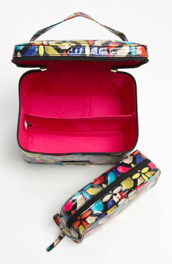 Alternate Image 3  - kate spade new york 'daycation - large natalie' cosmetics case set