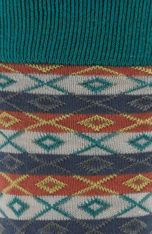 Alternate Image 2  - hook + ALBERT Fair Isle Socks