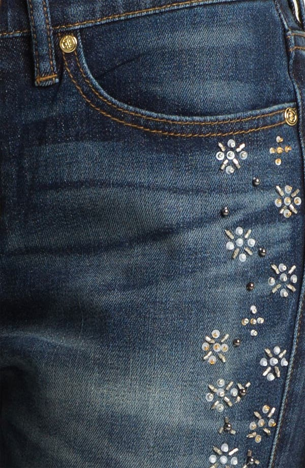 Alternate Image 3  - Juicy Couture 'Straight Slouchy' Embellished Jeans (Bleeker)