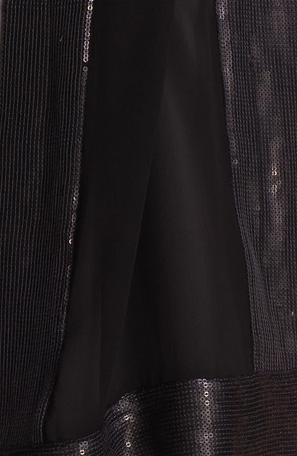 Alternate Image 2  - Eileen Fisher Sequin Trim Silk Scarf (Online Exclusive)