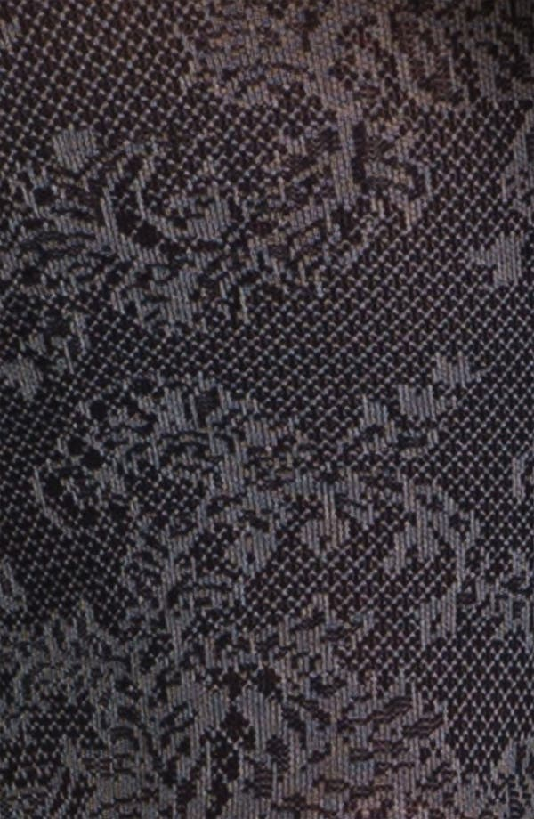 Alternate Image 2  - Hue 'Victorian' Floral Control Top Tights