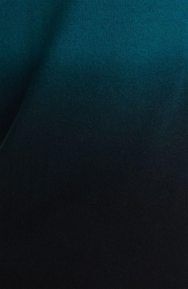 Alternate Image 3  - Nordstrom Collection Ombré Cashmere Turtleneck Sweater
