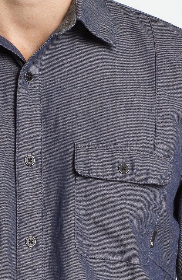 Alternate Image 3  - R44 Rogan Standard Issue Twill Denim Shirt