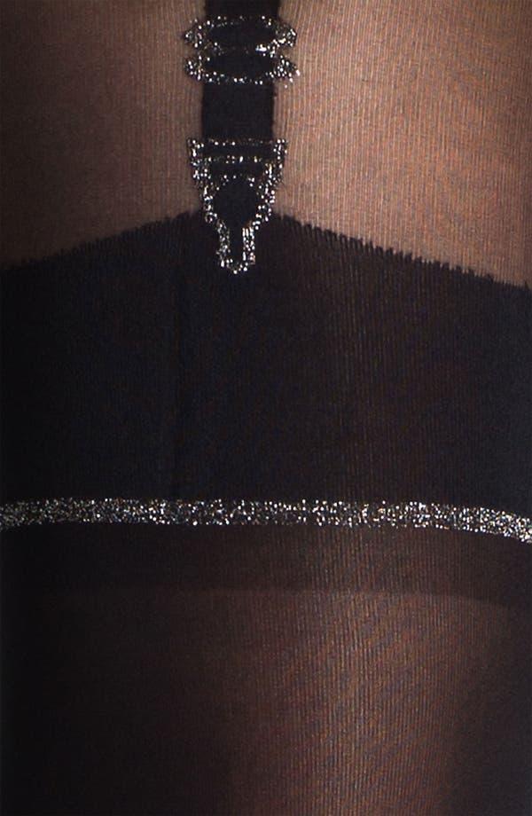 Alternate Image 2  - Pretty Polly 'Stunning' Mock Suspender Tights